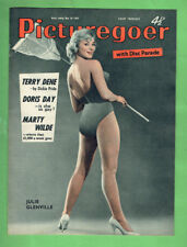 #T68.   PICTUREGOER MAGAZINE- 30th MAY 1959, MARILYN MONROE