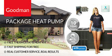 3.5 Ton 14 Seer Package Heat Pump Goodman GPH1442H41