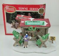 Dickens Collectables Towne Series Christmas Trees & Wreaths 1996 Holiday Tree