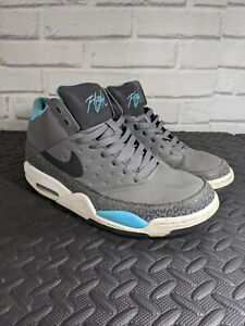 Nike air Flight classic Grey blue white UK 9 EUR  44 414967 008 Basketball