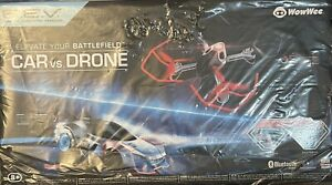 WOWWEE ROBOTIC ENHANCED VEHICLES REV CAR VS DRONE NEW IN FACTORY SEALED BOX