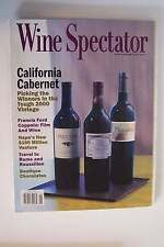 Wine Spectator Magazine November 15 2003 Back Issue