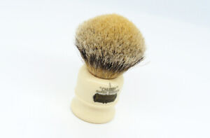 SIMPSON CHUBBY 1 SUPER BADGER SHAVING BRUSH - HAND MADE - EXCELLENT!