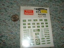 Tiny Signs  decals  OO 4mm Station Signs Southern Region 2 sheets  F77