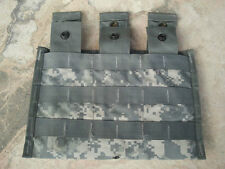 ACU TRIPLE MAG POUCH MOLLE 3 X 30 ROUND Holds 3 30 mags NEW