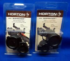 2x Genuine Horton Archery BUSHWACKER Flip-up Scope Caps SS020 Mult-A-Range Bow
