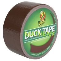 """Solid Brown ~ Duck Brand Duct Tape ~ Mud Puddle Color Series ~ 1.88"""" x 20 yds"""