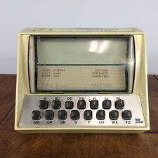 Vtg Computer Battery Telephone Directory Phone Book Index File Rolo Mid Century