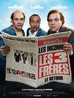 Affiche 120x160cm LES TROIS FRÈRES, LE RETOUR 2014 Bourdon Campan Légitimus TBE