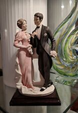 "Rare 2000 Giuseppe Armani Figurine Art Deco #1455C ""Evermore� Open Edition 8.5�"