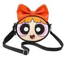 Cartoon Network THE POWERPUFF GIRLS BLOSSOM CROSSBODY BAG Handbag Purse Tote NEW