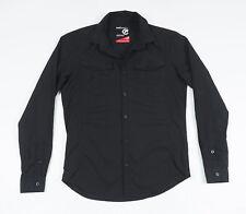 ECKO Unltd Men's Black long sleeved Casual Shirt Size Small