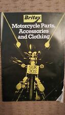 Britax Motorcycle Parts, Accessories and Clothing, book.