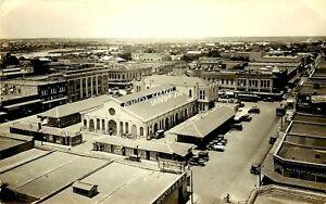 DOWNTOWN BUSINESS CENTER, LAREDO, TEXAS, RPPC, VINTAGE POSTCARD