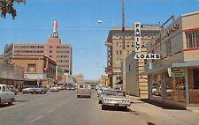 Casper Wyoming~Family Loans~Davis Letter Shop~1st Bank~1960s Cars~Station Wagon