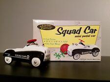 1996 mini pedal car Xonex Collector Edition 2nd of Series Die Cast Squad Car