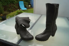 TAMARIS Damen Winter Schuhe Strick Stiefel Boots Stiefeletten Gr.39 grau TOP #st
