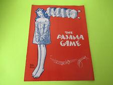 Vintage The Pajama Game Show Program Book