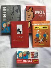 TINTIN COFFRET 2 DVD TINTIN ET MOI & MOI TINTIN / ENTRETIENS HERGE / NUMA SADOUL
