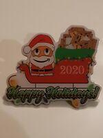 Amazon Peccy Santa 2020 Pin