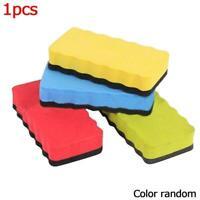 Premium Magnetic Whiteboard EVA + Felt Eraser Rubber Color Cleaner Random O4J8