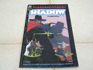 The Shadow: Blood & Judgment, softcover 1987, Howard Chaykin, DC
