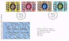 [CF9085] Gran Bretaña 1977, FDC Silver Jubilee of Queen Elizabeth II (SU)