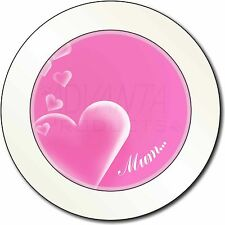 Love Hearts Pretty Car Tax Disc Holder Permit REUSABLE Gift Brand New