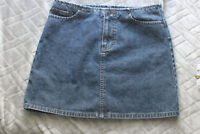 American Eagle Outfitters Women's Jeans Mini Skirt Size 2  Denim cotton