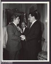 VINTAGE PRESS PHOTO / GOV. RAFAEL HERNANDEZ COLON / PUERTO RICO / 1980's / #3