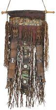 Old African Art Tuareg leather tent decor panel Mali Niger Sahara desert Ethnic