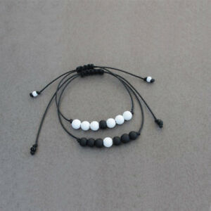 Distance Bracelet Matching Couple Bracelets Long Distance Bracelets Relationship