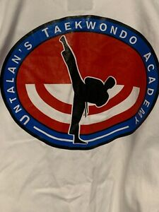 Best White Martial Arts Uniform Size 3 Front Olympic Patch Back Logo Untalan's