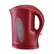 Electric Cordless Kettle with Boil-Dry Protection 1.7L, 2200W - Red