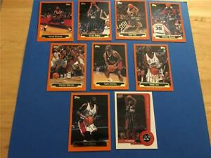 1999/00 Topps Houston Rockets Team Set 9 Cards with Rookie SP