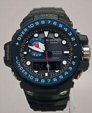 New Casio GWN1000B-1B G-Shock Black & Blue Gulfmaster Ocean Concept Men's Watch