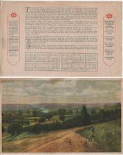 Beech Nut 1920 Calendar Print Mohawk Valley Jafee Chewing Gum Catsup Bacon Jams