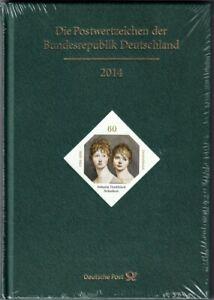 Bund Briefmarken Jahrbuch 2014 original verpackt in LUXUS-Erhaltung!