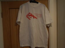 White t-shirt with Yorkshire Road Races 2004 in aid of Barnardos on, size L