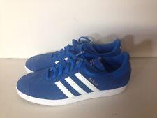 Mens Adidas Blue Suede Gazelles size 13