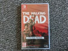The Walking Dead la temporada final para el Nintendo Switch-Nuevo y Sellado