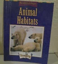 ANIMAL HABITATS HOUGHTON MIFFLIN Reader's Library Grade 3 Theme 4 HOMESCHOOL