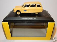 UH UNIVERSAL HOBBIES CITROEN AMI 6 BREAK 1968 POSTES POSTE PTT 1/43 IN LUXE BOX