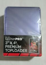 SEALED Ultra Pro 3X4 PREMIUM Toploaders 25Pack for 2.5 x 3.5 Sized Cards
