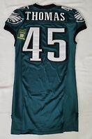#45 Thomas of Philadelphia Eagles NFL Locker Room Game Issued Jersey