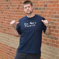 I'M MOM'S FAVORITE FUNNY T-SHIRT(WHI HOD Funny T-shirts