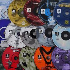 Sony Playstation 1 PS1 Spiele Games Klassiker Spiel PAL nur Disc frei wählbar