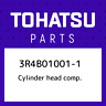 3R4B01001-1 Tohatsu Cylinder head comp. 3R4B010011, New Genuine OEM Part