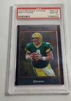 2007 BOWMAN CHROME BRETT FAVRE PSA GEM MINT 10 #BC116 (MR)
