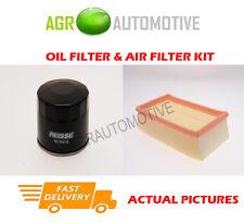 DIESEL SERVICE KIT OIL AIR FILTER FOR NISSAN NV200 1.5 110 BHP 2011-